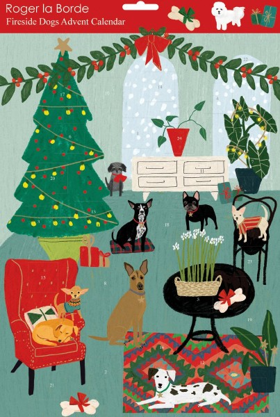 "Adventskalender ""Dogs"" von Roger La Borde"